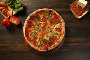 Chorizo e Spinaci Pizza