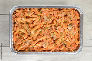 Penne Rosa and Bacon Gruppo Pasta