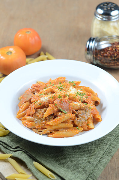 Penne Rosa and Bacon Pasta 2
