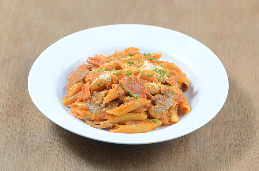 Penne Rosa and Bacon Pasta 3