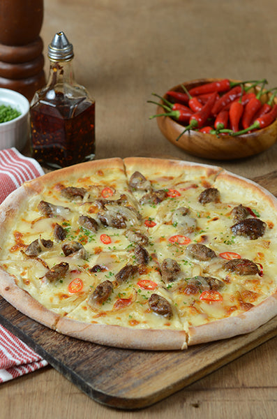 Spicy Italian Sausage Pizza 3