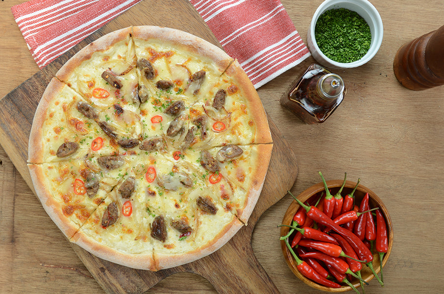 Spicy Italian Sausage Pizza 4