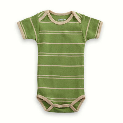 Organic Baby Bodysuit Stripes