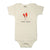 Honey Bunny Organic Cotton Bodysuit