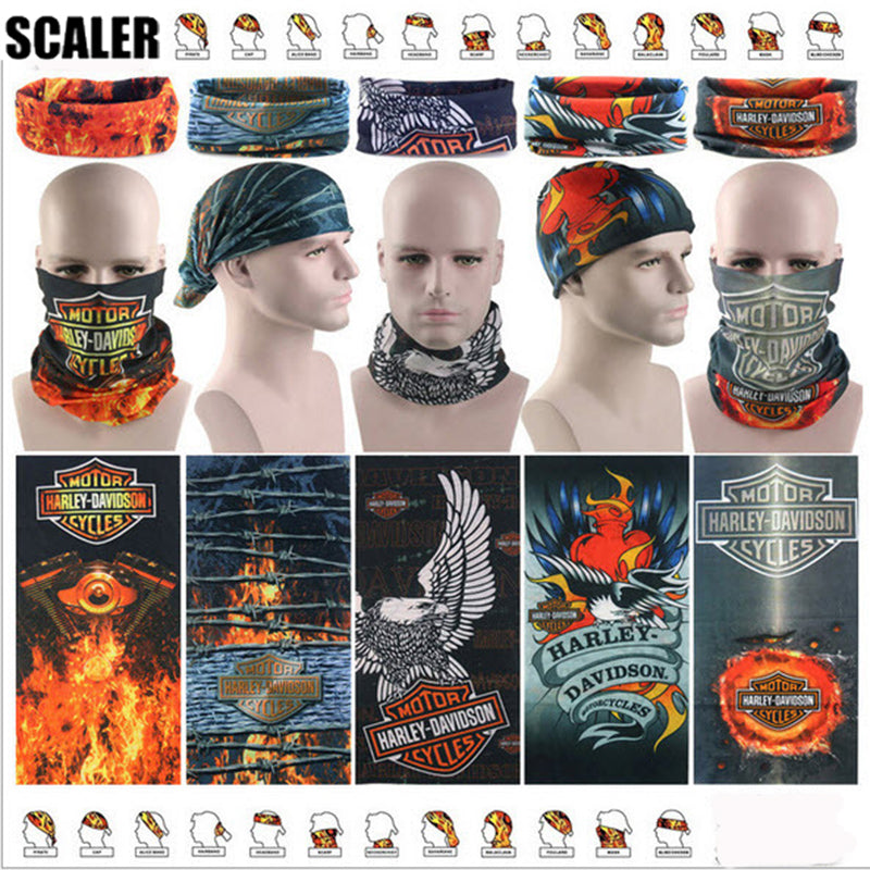 ... Wholesale Magic Seamless Buffe Bandanas Harley FACE Mask  Multifunctional Headband Pirate Scarf Tube Sports Face Shield ... 9e9232a0373