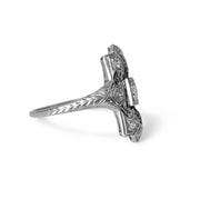 Vintage Art Deco Platinum & Diamond Ring