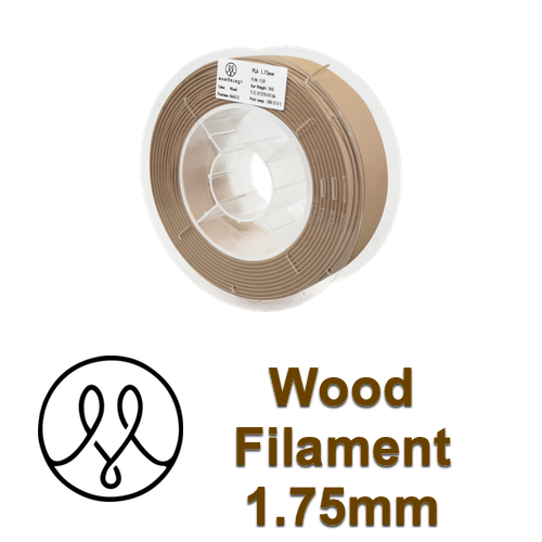 MAMORUBOT Wood 1.75mm 1KG - 3D Printer Filament