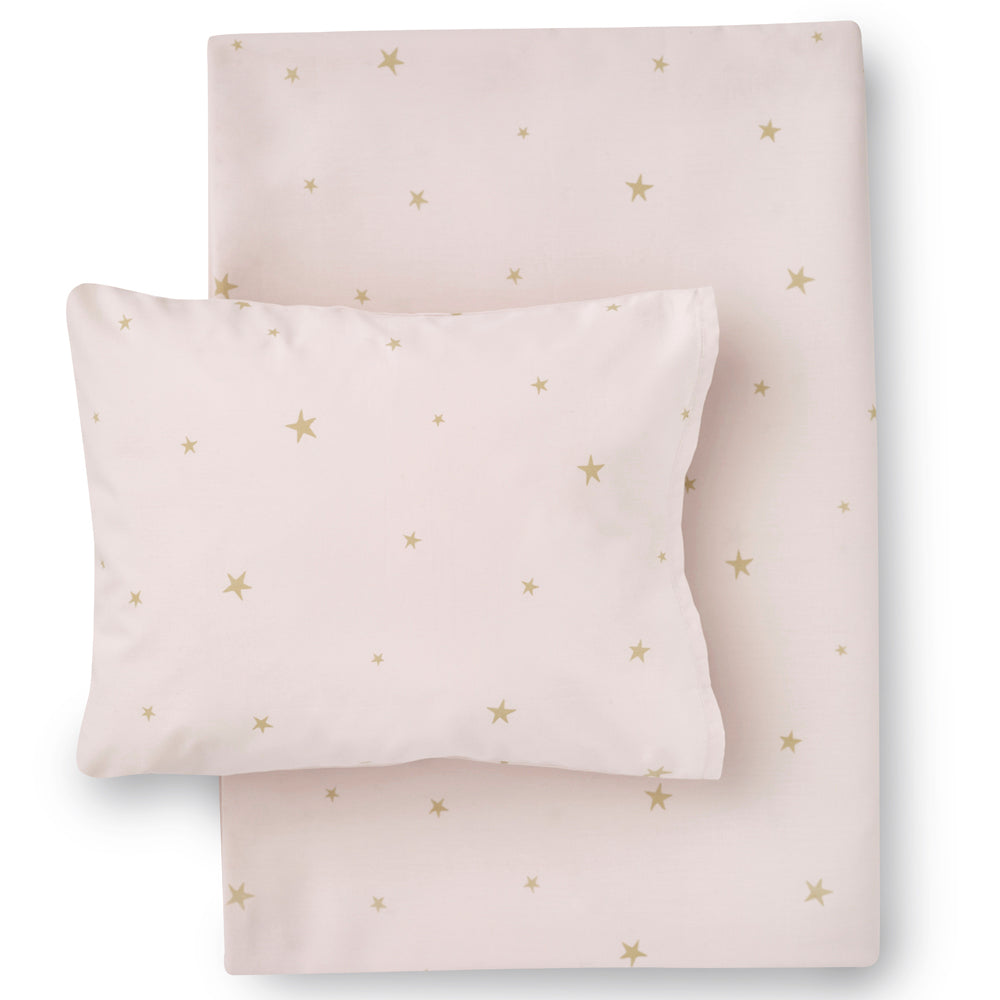 Hibou Starry Sky Bedding Set, Pale Rose