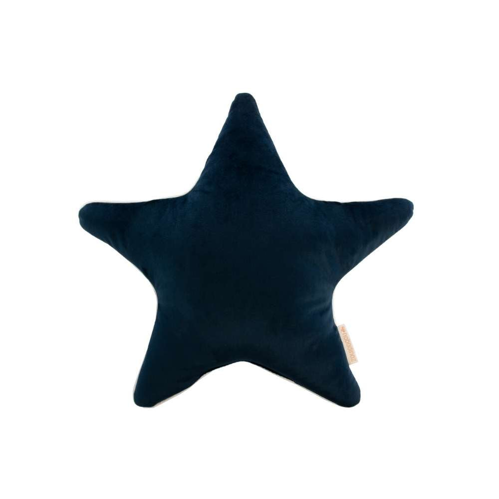 Nobodinoz Aristote star cushion, night blue