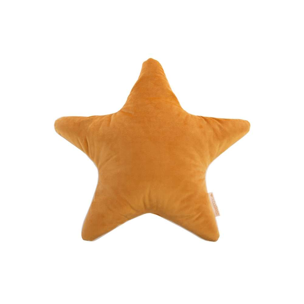 Nobodinoz Aristote star cushions, farniente yellow