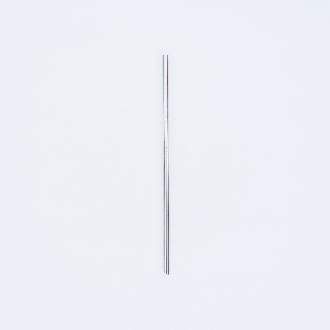 STAINLESS STEEL STRAW (SILVER)