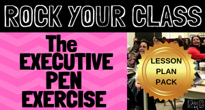 The Executive Pen Exercise - Complete Lesson Plan Package  #rockyourclass