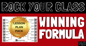 Winning Formula - Complete Lesson Plan Package #rockyourclass