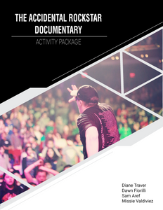 The Accidental Rockstar Documentary - Activity Package