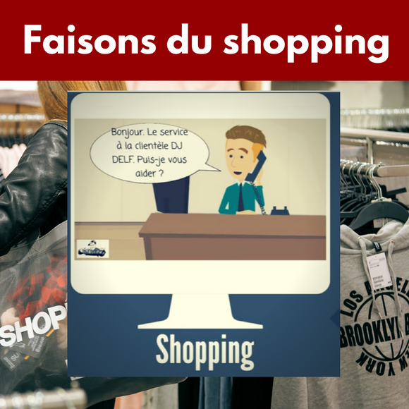 "Complete ""Faisons du shopping"" life aspect"