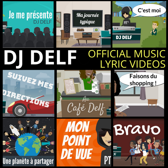 DJ DELF Official Music Lyric Videos 2020