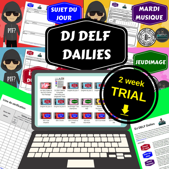 DJ DELF Dailies Interactive Videos Two Week Trial Package