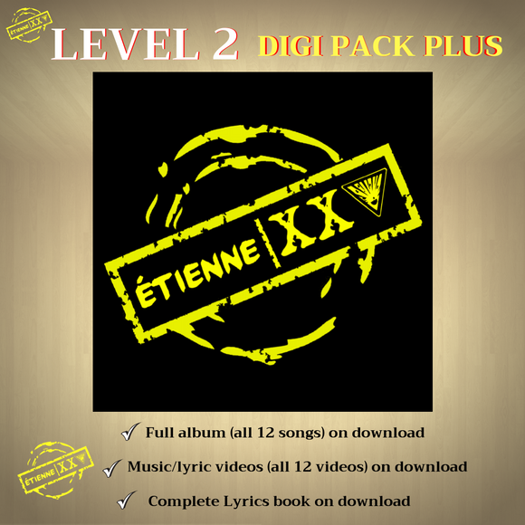 ETIENNE XXV - Level 2 - Digi Pack PLUS