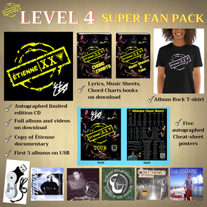 ETIENNE XXV - Level 4 - Super Fan Pack