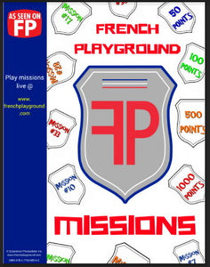 French Playground Missions Book - Bundle Special