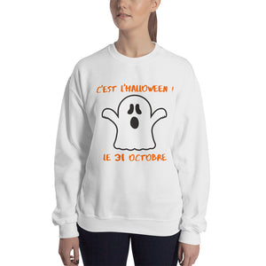 Halloween Ghost Sweatshirt - UNISEX