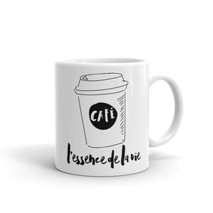 Cafe/Coffee - Essence de la vie Coffee Mug