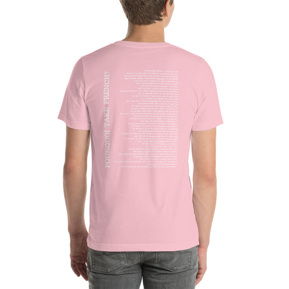 Official PINK Pourquoi Take French? Rock T-Shirt