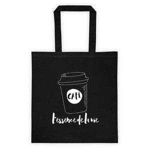 Cafe/Coffee - Essence de la vie Tote bag