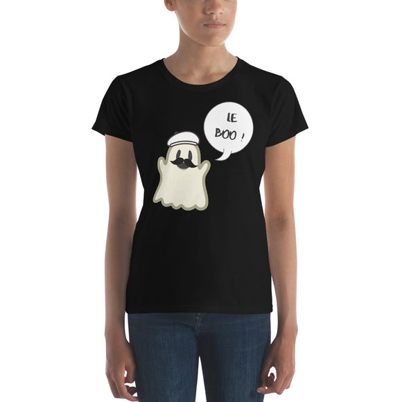 Halloween Spoofy-Spooky Bilingual Ghost saying