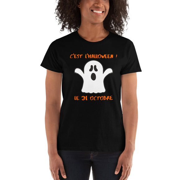 Halloween Ghost LADIES' T-shirt