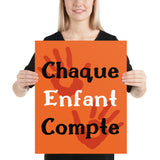 Chaque enfant compte #2 - Orange Shirt Day / La journée du chandail orange - Poster