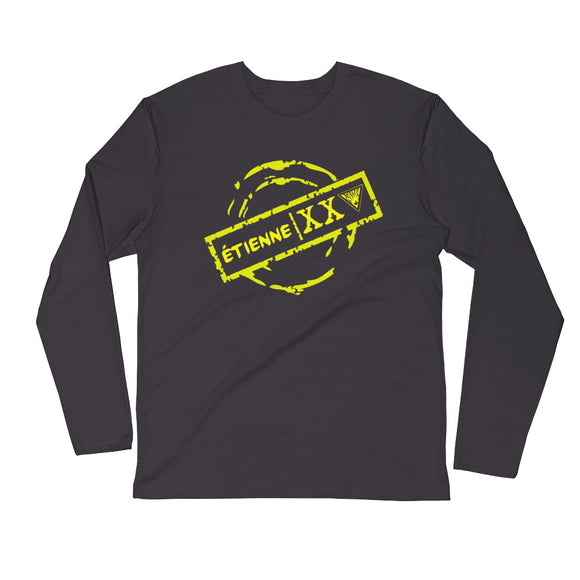 ÉTIENNE XXV Long Sleeve Fitted Crew