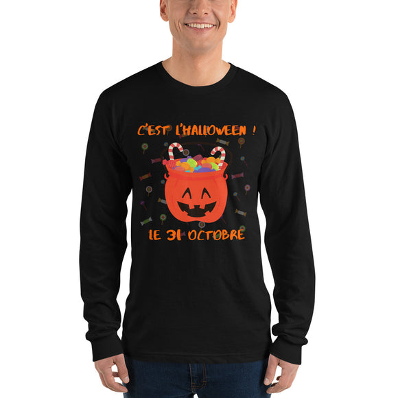 Halloween Candy Long sleeve t-shirt - UNISEX