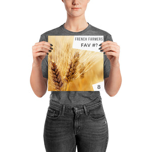 Wheat Is Huit - Poster
