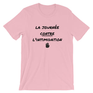 La journée contre l'intimidation - Anti-bullying PINK SHIRT DAY - Tshirt