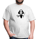Shakespeare (Shake + Spear) Unisex Classic T-Shirt - light heather gray