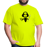Shakespeare (Shake + Spear) Unisex Classic T-Shirt - safety green