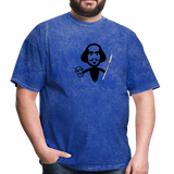 Shakespeare (Shake + Spear) Unisex Classic T-Shirt - mineral royal