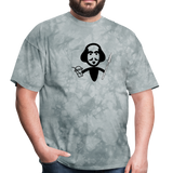 Shakespeare (Shake + Spear) Unisex Classic T-Shirt - grey tie dye