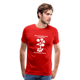 Men's Premium T-Shirt - red