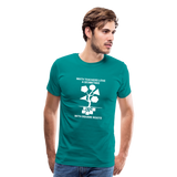 Men's Premium T-Shirt - teal