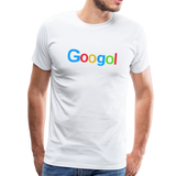 Googol Math - Men's Premium T-Shirt - white