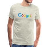 Googol Math - Men's Premium T-Shirt - heather oatmeal