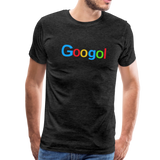 Googol Math - Men's Premium T-Shirt - charcoal gray