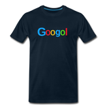 Googol Math - Men's Premium T-Shirt - deep navy