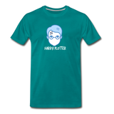 Harry Plotter - Men's Premium Math T-Shirt - teal