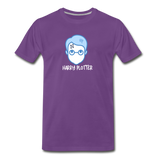 Harry Plotter - Men's Premium Math T-Shirt - purple