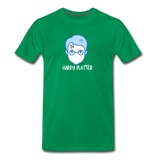 Harry Plotter - Men's Premium Math T-Shirt - kelly green