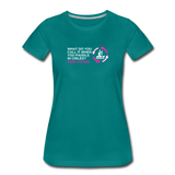 Rotation Row-tation - Women's Premium Math T-Shirt - teal