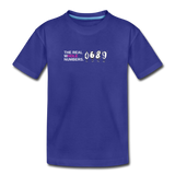 The Real Whole Numbers  - Kids' Premium Math T-Shirt - royal blue